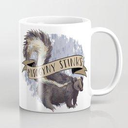 Misogyny Stinks Coffee Mug
