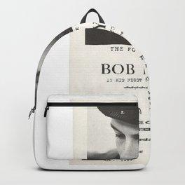 Vintage 1961 Bob Dylan Carnegie Hall Folk Festival Concert Gig Poster Backpack