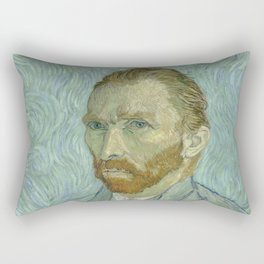 Vincent van Gogh - Self Portrait Rectangular Pillow
