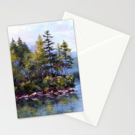 Reflecting Pines Stationery Cards