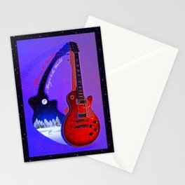 Music to the World...Magic to the World Stationery Cards