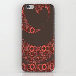 Red Diamonds iPhone Skin