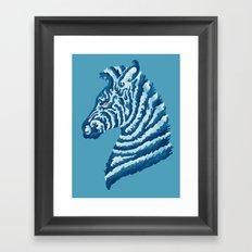 SEAbra Framed Art Print