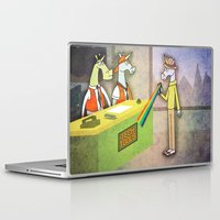 hologram Laptop & iPad Skins featuring Rainbow Hologram Unicorn by That's So Unicorny