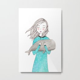 Just want to hold you Metal Print