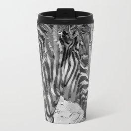 AnimalArtBW_Zebra_20170601_by_JAMColorsSpecial Travel Mug