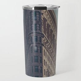 Flat Flat Iron - NYC Travel Mug