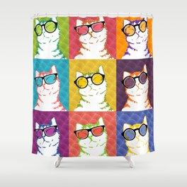 Pop Cats 02 Shower Curtain