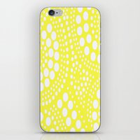 yellow pattern iPhone & iPod Skins featuring Pattern Yellow by Wildflowers and Grace