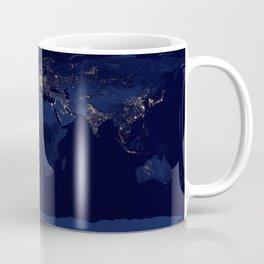 Earth Night View Coffee Mug