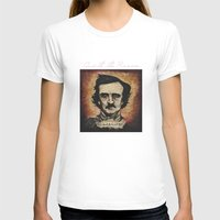poe T-shirts featuring Poe by Colunga-Art