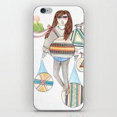 Patterns/Circles iPhone & iPod Skin