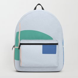 Going to be happy - on blue background Backpack