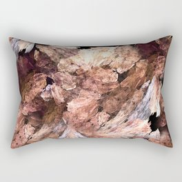 Abstract Almond  Rectangular Pillow