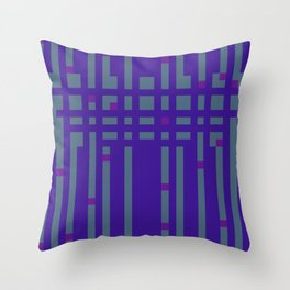 Stripe Weighout Throw Pillow