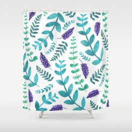 Greenery Pattern II Shower Curtain