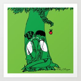 The Giving Tree or The Taking Human Art Print