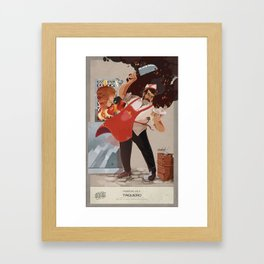 Taquero Framed Art Print