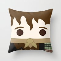 outlander Throw Pillows featuring Outlander, Jamie Fraser by heartfeltdesigns by Telahmarie