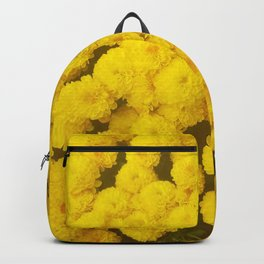 Autumn Gold - Chrysanthemums Backpack