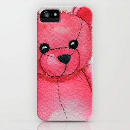 Rosy the Bear iPhone Case