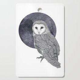 Barn Owl Cutting Board