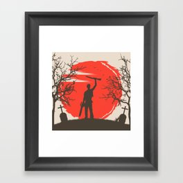 Ash Williams Framed Art Print