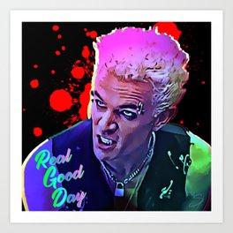 Spike's Real Good Day Art Print