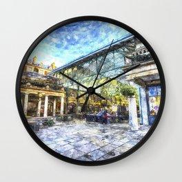 Covent Garden Market London Art Wall Clock