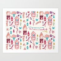 And I Was Daydreaming One Day... Art Print