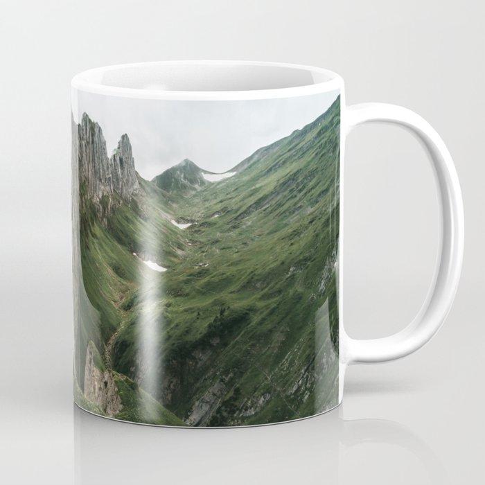 foggy mountain ridge in switzerland landscape photography coffee