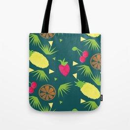 Watercolor Just Fruit Tropical Tutti Fruitti Pattern Tote Bag