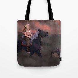 Quiet Warrior 2 version. Tote Bag