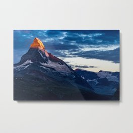 Zermatt, Switzerland #society6 #decor #buyart Metal Print