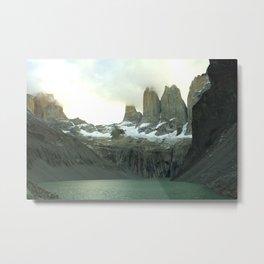 Torres del Paine Metal Print