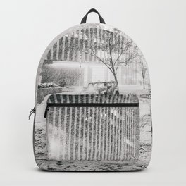 New York City Snow in Times Square Backpack