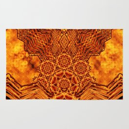 Fire Elemental Temple Rug