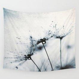 dandelion blue IV Wall Tapestry