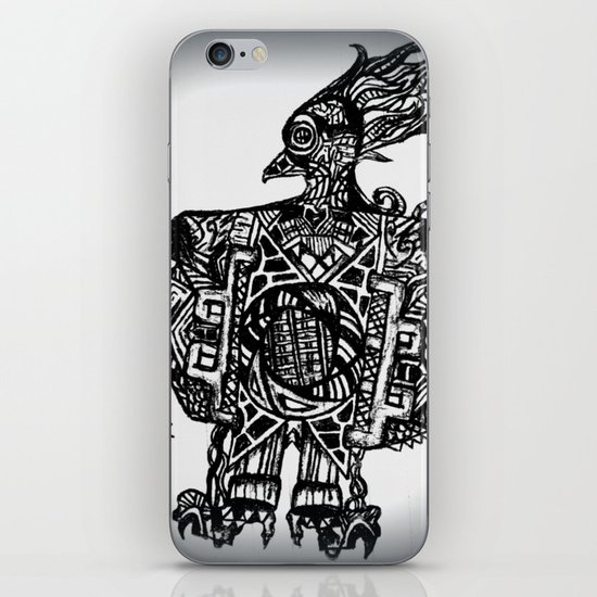 Robotic Bird iPhone & iPod Skin