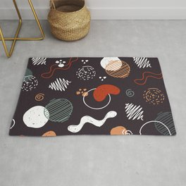 Hand drawn abstract pattern 2 Rug