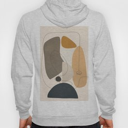 Abstract Minimal Shapes 26 Hoody
