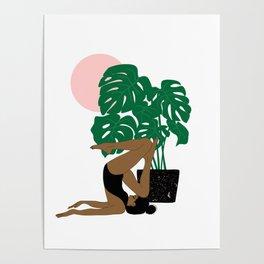 summer yoga Poster
