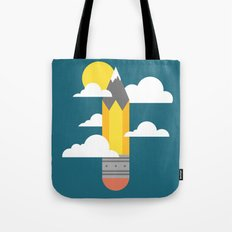 Mountains at My Fingertips Tote Bag