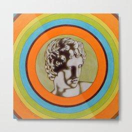 Apollo alla Galleria degli Uffizi Metal Print