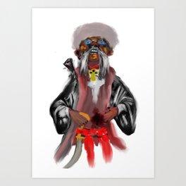 cossack zaporozhian Art Print