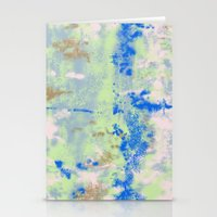 tie dye Stationery Cards featuring Tie Dye by Wendy Ding: Illustration