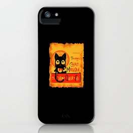 Chat Magique iPhone Case