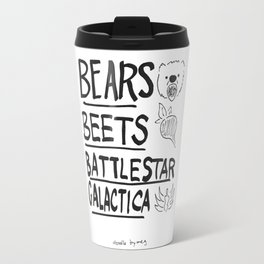 Bears, Beets, Battlestar Galactica Travel Mug