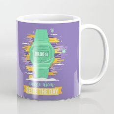 Carpe Diem - Seize the Day [green] Mug