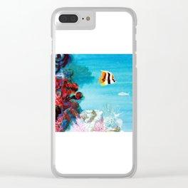 Australian Reef          by Kay Lipton Clear iPhone Case